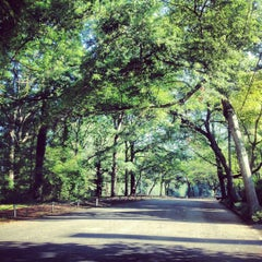 Photo taken at Candler Park by Alex C. on 6/16/2012