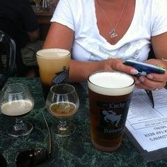 Photo taken at Lucky Baldwins Delirium Pub Cafe by Keith P. on 7/5/2012