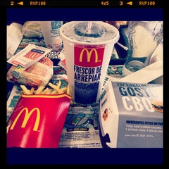 Photo taken at McDonald's by Caio R. on 5/12/2012