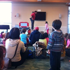Photo taken at Redwood Shores Branch Library by David R. on 2/18/2012