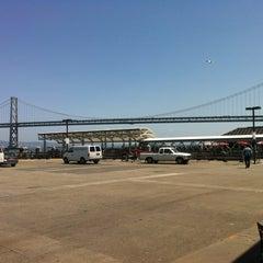 Photo taken at Golden Gate San Francisco Ferry Terminal by Jeffrey D. on 5/4/2012