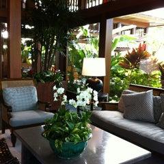 Photo taken at Four Seasons Resort Hualalai at Historic Ka`upulehu by Jennifer L. on 6/2/2012