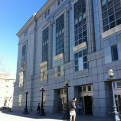 Photo taken at San Francisco Public Library - Main Library by DinkyShop S. on 2/15/2012