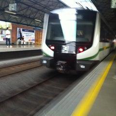 Photo taken at METRO - Estacion Poblado by Juan DaeMon on 4/9/2012