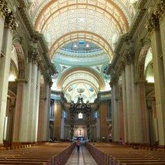 Photo taken at Cathédrale Marie-Reine-du-Monde by Suzanne W. on 7/20/2012