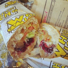 Photo taken at Which Wich? Superior Sandwiches by ginger k. on 8/11/2012