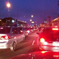 Photo taken at Avenida Ermano Marchetti by Gabriel Torres A. on 4/27/2012
