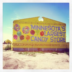 Photo taken at Minnesota's Largest Candy Store by Emily B. on 8/17/2012