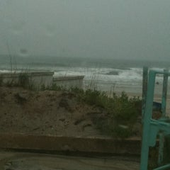 Photo taken at Lenox Beach Approach by Mary J. on 2/27/2012