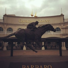Photo taken at Churchill Downs by Jon Y. on 7/13/2012