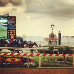 Photo taken at Pimlico Race Course by Bridget C. on 5/13/2012