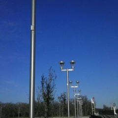 Photo taken at DCTA MedPark Station (A-train) by Cj P. on 2/23/2012