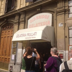 Photo taken at Gelateria Old Bridge by Michelle B. on 9/11/2012