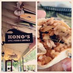 Photo taken at Kono's Big Wave Cafe by Ryan M. on 5/30/2012