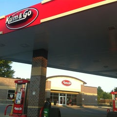 Photo taken at Kum & Go by Antonio F. on 7/12/2012