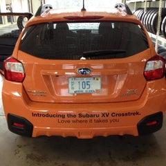 Photo taken at Patriot Subaru by Bill B. on 8/16/2012