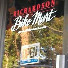 Photo taken at Richardson Bike Mart by James J. P. on 4/25/2012