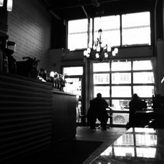 Photo taken at Transcend Coffee by Michael L. on 3/10/2012