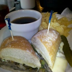 Photo taken at Oliver's Cafe by Carly A. on 9/7/2012