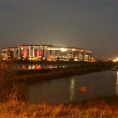 Photo taken at Stadion Gelora Bung Tomo by ALVIAN B. on 5/19/2012