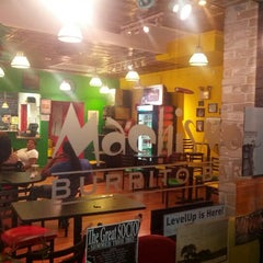 Photo taken at Machismo Burrito Bar by Steve P. on 7/29/2012
