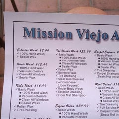 Photo taken at Mission Viejo Auto Spa by Ryan R. on 8/10/2012
