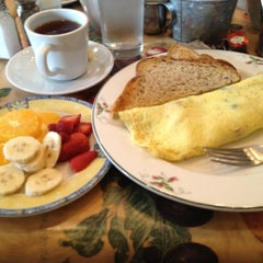 Photo taken at Babette's Cafe by The R. on 3/11/2012
