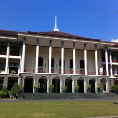 Photo taken at Gedung Pusat UGM by Nick S. on 6/17/2012