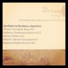 Photo taken at The Wine Studio by Josh N. on 2/9/2012