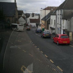 Photo taken at Chepstow Bus Station by Geoffrey S. on 4/4/2012