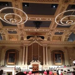 Photo taken at Mechanics Hall by Kelly V. on 6/3/2012