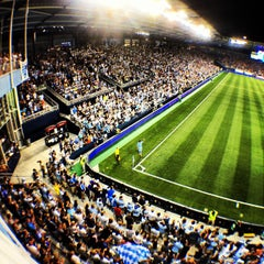 Photo taken at Sporting Park by Ramsey M. on 8/27/2012
