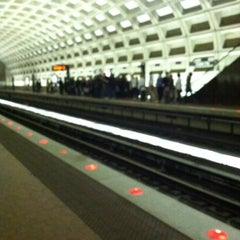 Photo taken at Crystal City Metro Station by Antoinette W. on 2/10/2012