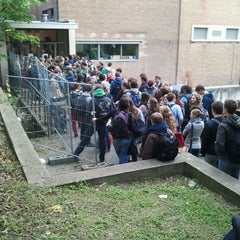 Photo taken at De Therminal, UGent by Lorenzo F. on 5/18/2012