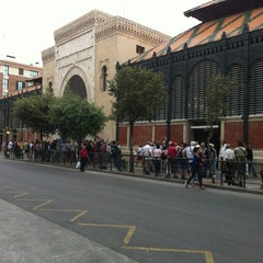 Photo taken at Mercado de Atarazanas by Jose Maria M. on 5/19/2012