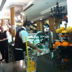 Photo taken at Valentino Cafè by Tuke N. on 4/6/2012