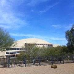Photo taken at Cashman Center by Shannon A. on 3/5/2012