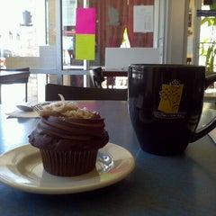 Photo taken at Jarets Stuffed Cupcakes by Pat F. on 4/5/2012