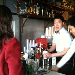 Photo taken at STANDING COFFEE by Seongjun K. on 3/24/2012