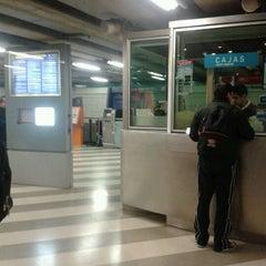 Photo taken at Metro Santa Isabel by Niko Luz ALejandra V. on 7/21/2012