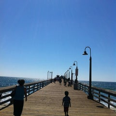 Photo taken at Imperial Beach Pier by DomBom D. on 7/27/2012