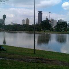Photo taken at Uhuru Park by George N. on 6/26/2012