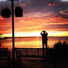 Photo taken at Edmonds Ferry Terminal by Mrinabh D. on 6/9/2012