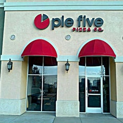 Photo taken at Pie Five Pizza Co. by Kerry T. on 2/27/2012
