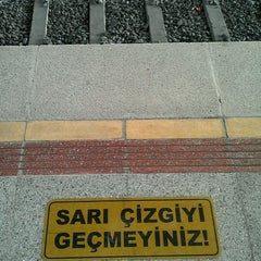 Photo taken at İzban Mavişehir İstasyonu by Sercan on 7/22/2012