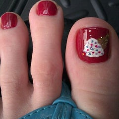 Photo taken at Vo Nails by Tiffany R. on 4/15/2012