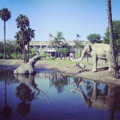 Photo taken at La Brea Tar Pits by Marisa G. on 4/21/2012