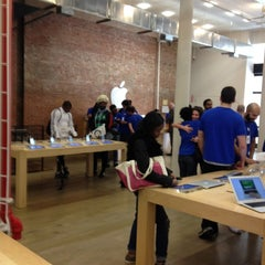 Photo taken at Apple Store (Temp Location) by CG S. on 3/7/2012