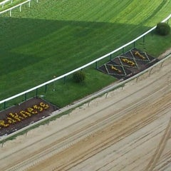 Photo taken at Pimlico Race Course by Wayne M. on 4/13/2012