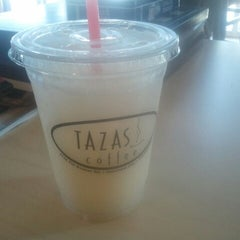 Photo taken at Tazas Coffee by Danielle J. on 6/11/2012